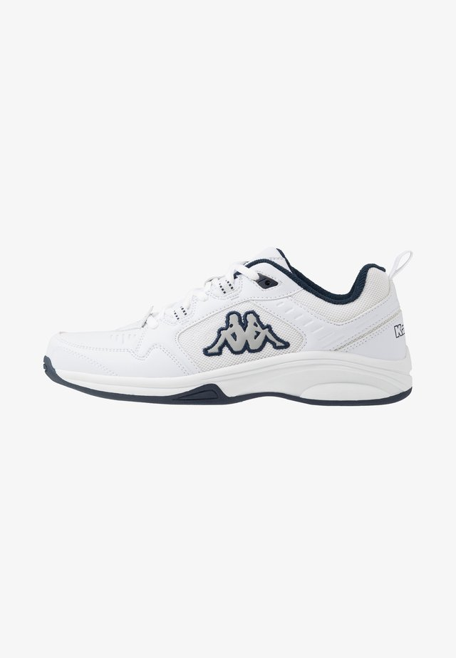 CURGAN - Scarpe da fitness - white/navy