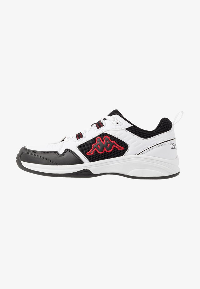 CURGAN - Sportschoenen - white/black