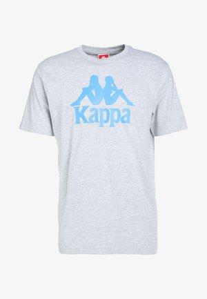 CASPAR - T-shirt z nadrukiem - grey melange