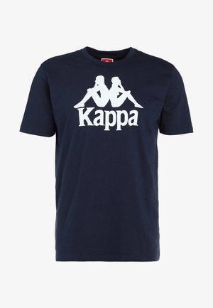 CASPAR - Camiseta estampada - navy