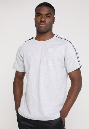 EMANUEL - Print T-shirt - grey melange