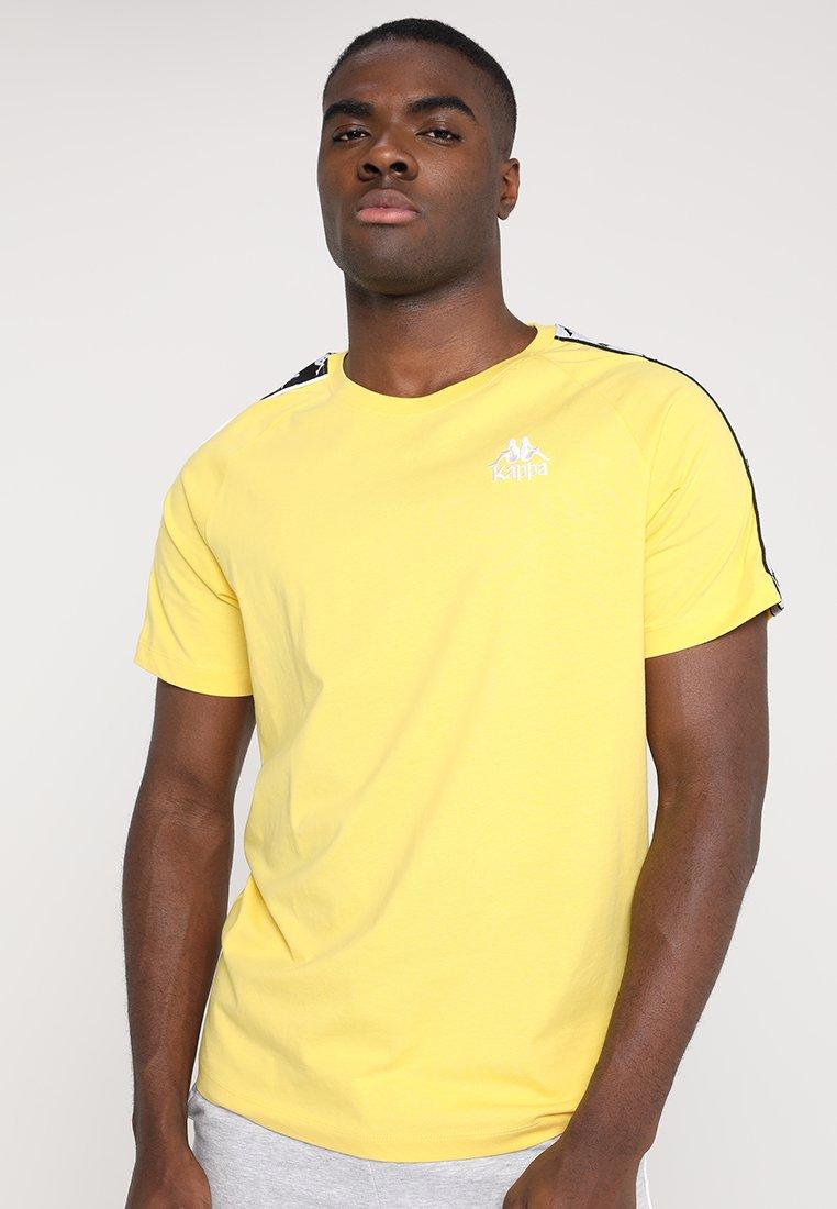 Kappa - EMANUEL - Camiseta estampada - aspen gold