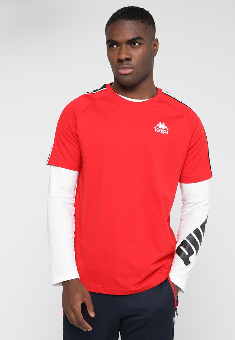 Kappa - EMANUEL - T-shirts print - tomato