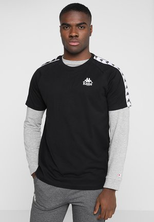 EMANUEL - T-shirt z nadrukiem - black