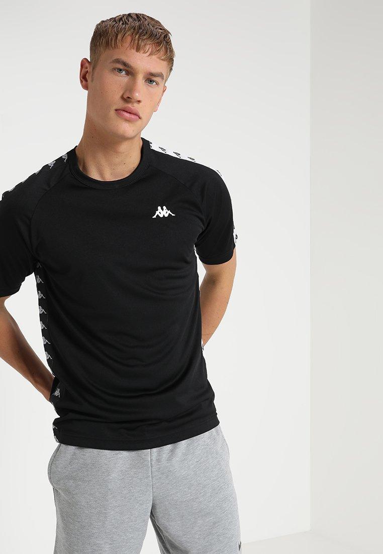 Kappa - EGGE - T-Shirt print - black