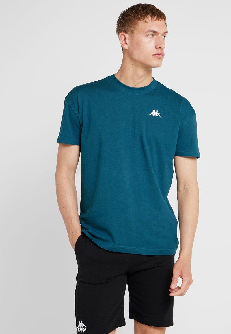 Kappa - FRANKLYN - Basic T-shirt - blue coral