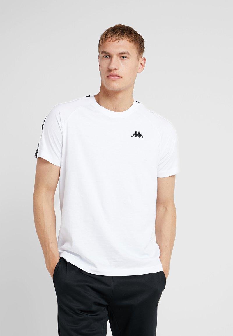 Kappa - FINLEY - Camiseta estampada - bright white