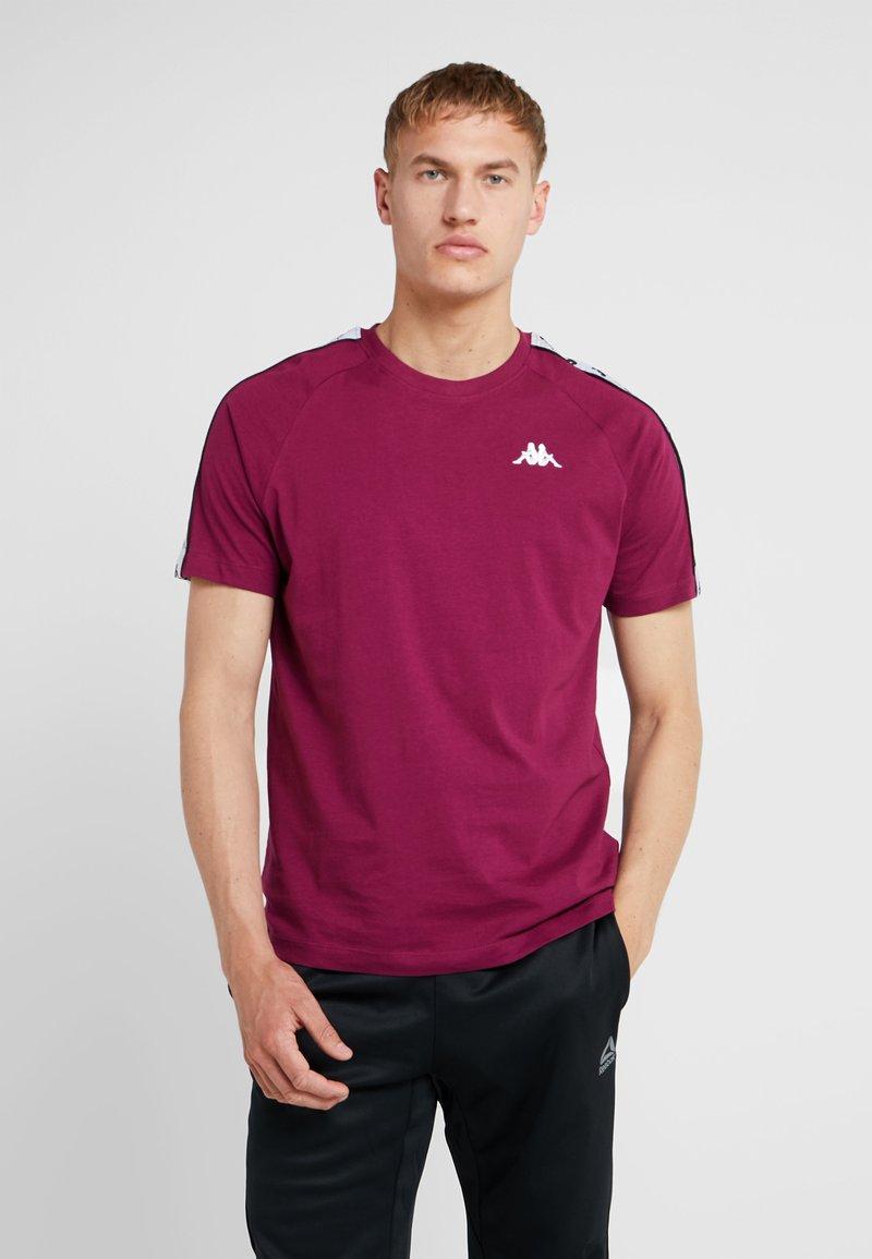 Kappa - FINLEY - T-shirt con stampa - purple potion