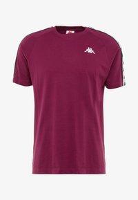 Kappa - FINLEY - T-shirt con stampa - purple potion - 3
