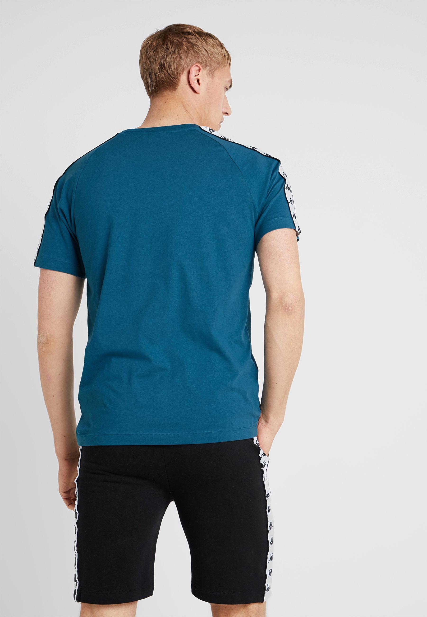 Kappa Blue FinleyT shirt Imprimé Coral zVpLUqGSM