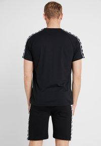 Kappa - FINLEY - T-shirt med print - caviar - 2
