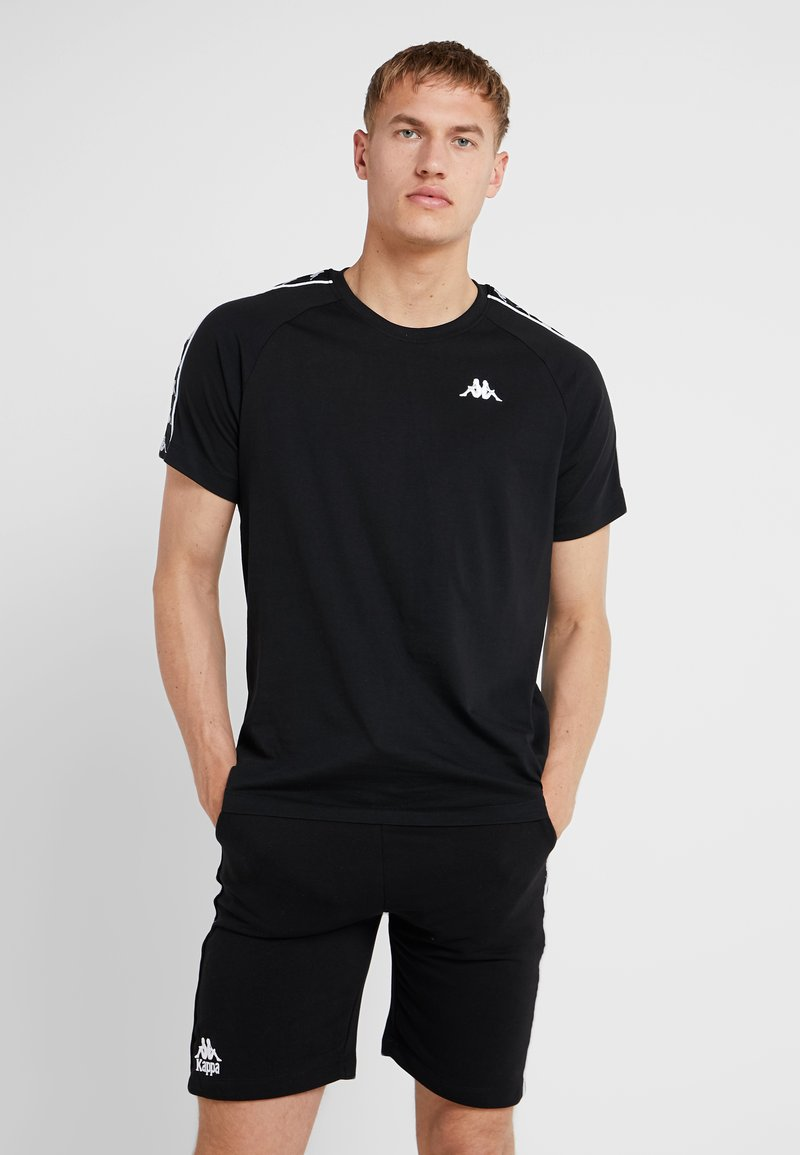 Kappa - FINLEY - Print T-shirt - caviar