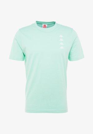GEWORG - T-shirt med print - mint