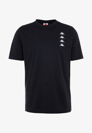 GEWORG - T-shirt z nadrukiem - caviar
