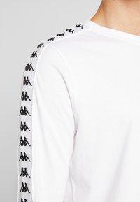 Kappa - GROLF - Bluzka z długim rękawem - bright white - 5