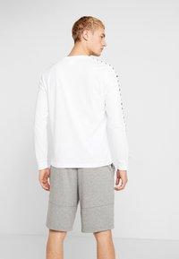 Kappa - GROLF - Bluzka z długim rękawem - bright white - 2