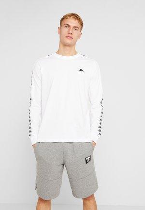 GROLF - Maglietta a manica lunga - bright white