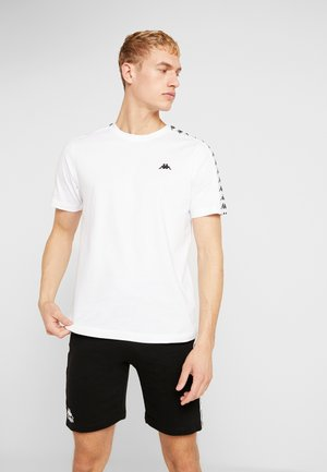GRENNER - Camiseta estampada - bright white