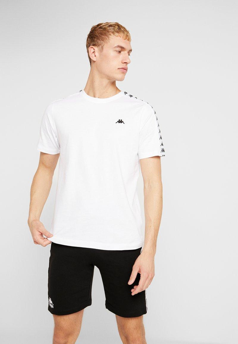 Kappa - GRENNER - T-shirt print - bright white