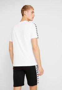 Kappa - GRENNER - T-shirt print - bright white - 2