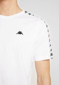 Kappa - GRENNER - T-shirt print - bright white - 5