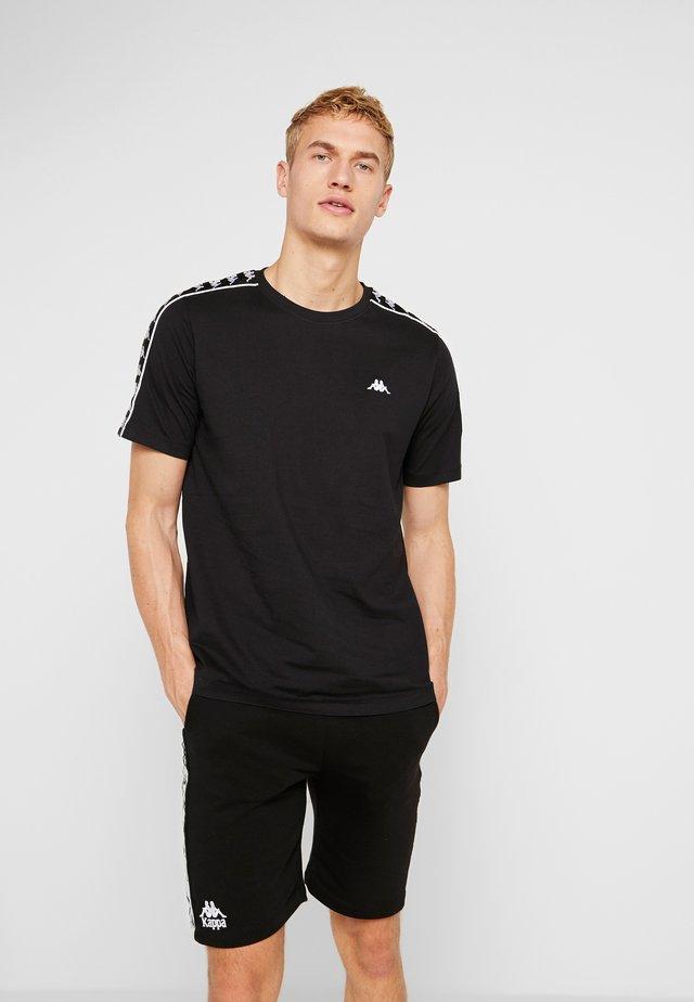 GRENNER - Camiseta estampada - caviar