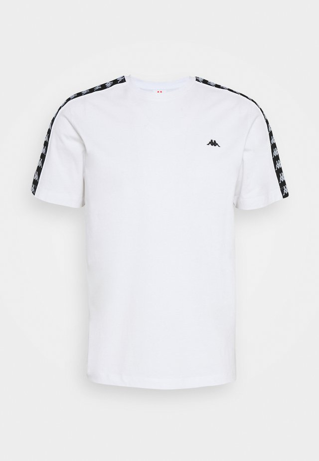 HANNO TEE - T-shirts med print - bright white