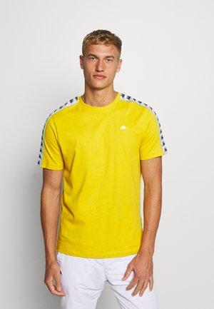 HANNO TEE - T-shirt con stampa - ceylon yellow