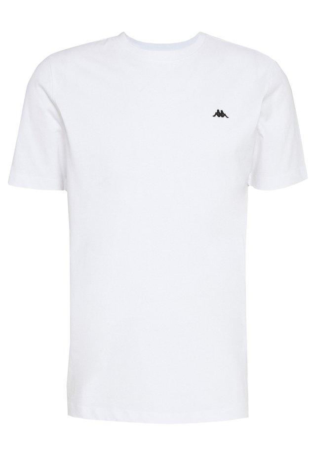 HAUKE TEE - T-Shirt basic - bright white