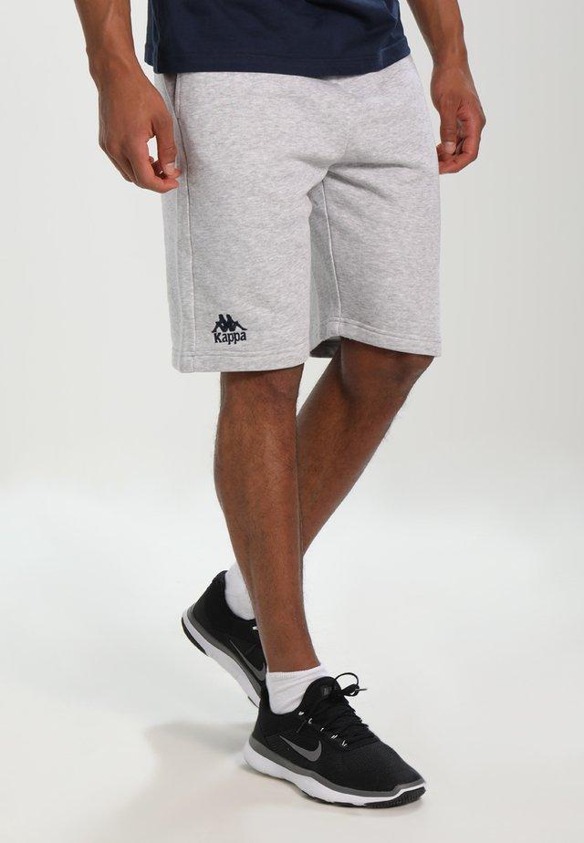 TOPEN - kurze Sporthose - grey melange