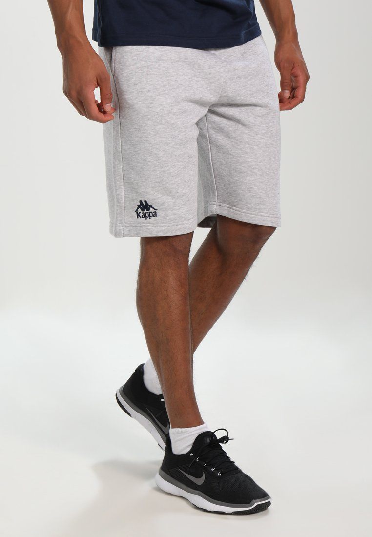 Kappa - TOPEN - Pantalón corto de deporte - grey melange