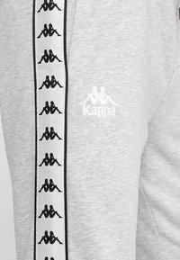 Kappa - EIKE - Tracksuit bottoms - grey melange - 3