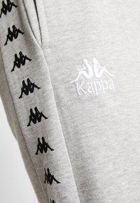 Kappa - VENTUN PANTS - Tracksuit bottoms - grey melange - 5