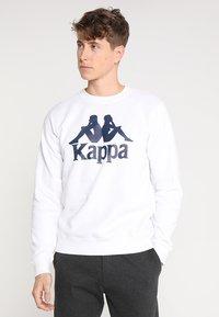 Kappa - SERTUM - Sudadera - white - 0