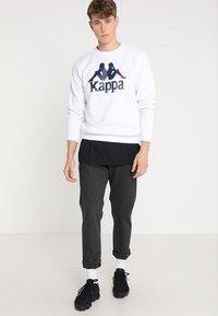 Kappa - SERTUM - Sudadera - white - 1