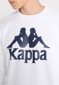 Kappa - SERTUM - Sudadera - white - 6