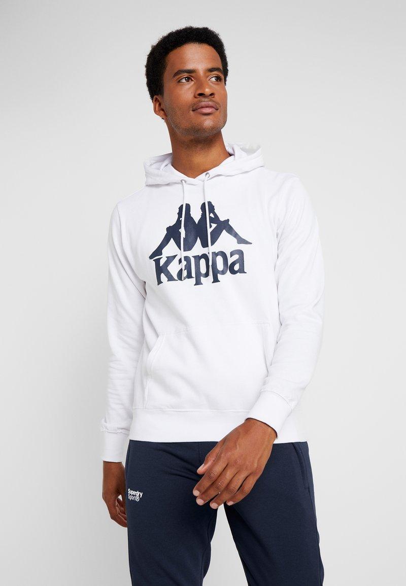 Kappa - TAINO - Kapuzenpullover - white