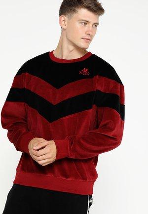 DAVIS - Sweatshirt - rio red