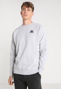 Kappa - TAULE - Sweatshirt - grey melange - 0