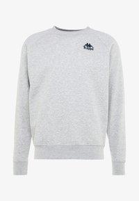 Kappa - TAULE - Sweatshirt - grey melange - 4