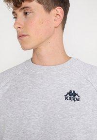 Kappa - TAULE - Sweatshirt - grey melange - 5