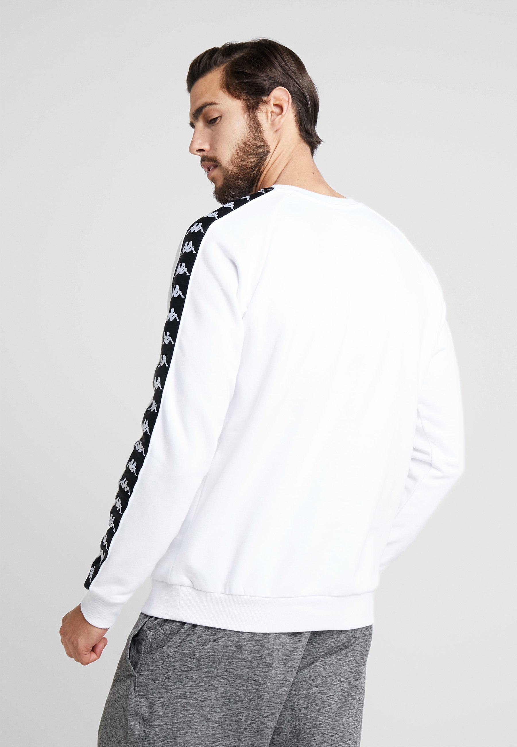 FaddeiSweatshirt White Bright Kappa FaddeiSweatshirt Kappa Bright Kappa White 3TFlK1cuJ