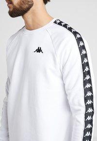 Kappa - FADDEI - Sweatshirt - bright white - 5