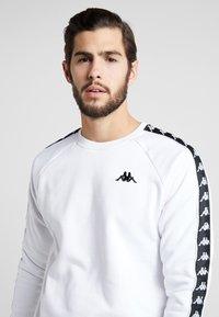 Kappa - FADDEI - Sweatshirt - bright white - 3