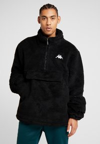 Kappa - VLAU - Fleece jumper - caviar - 0