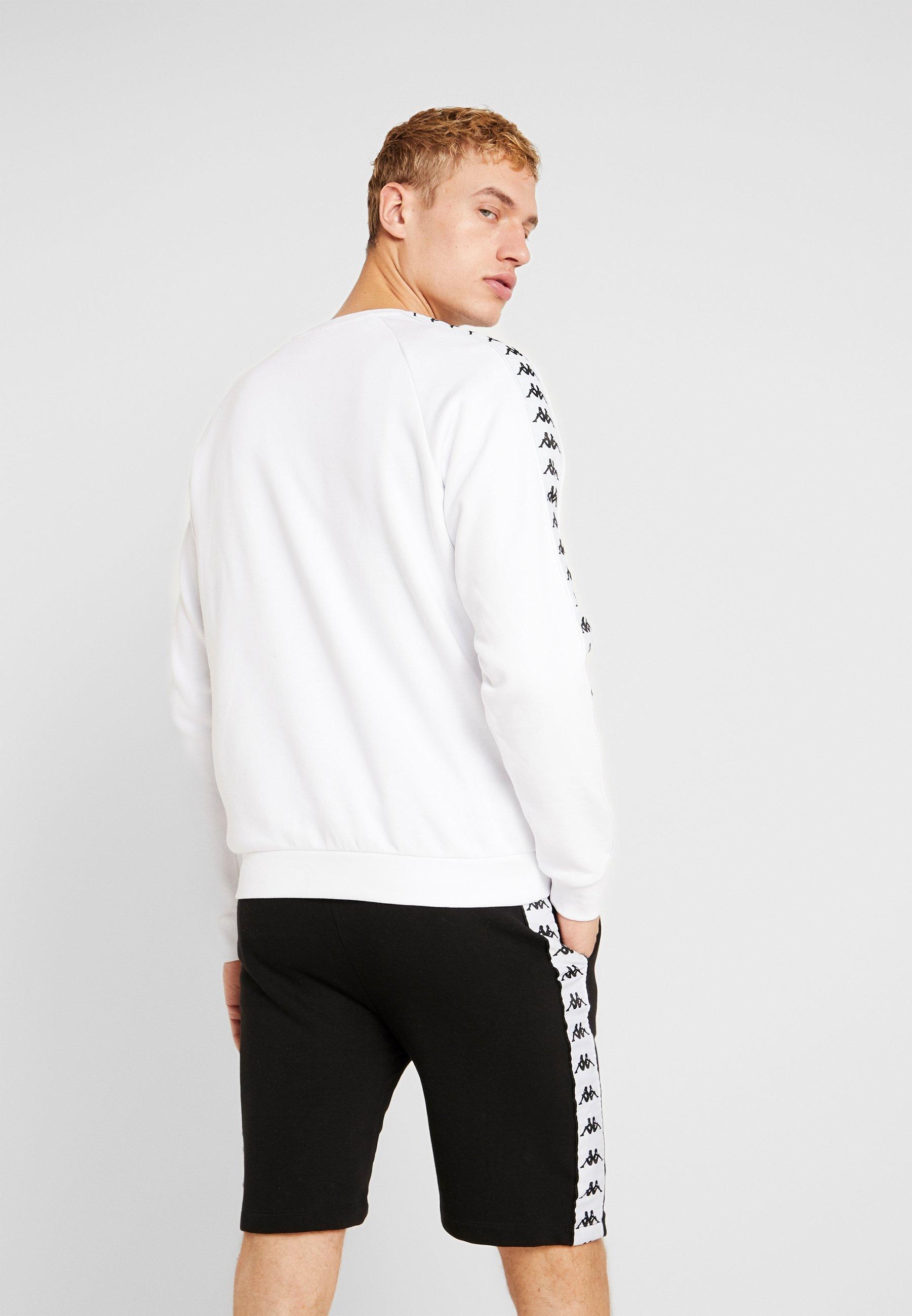 Kappa GOLOR Sweatshirt bright white ZALANDO.FR