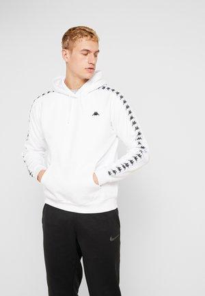 GABRIOS - Bluza z kapturem - bright white