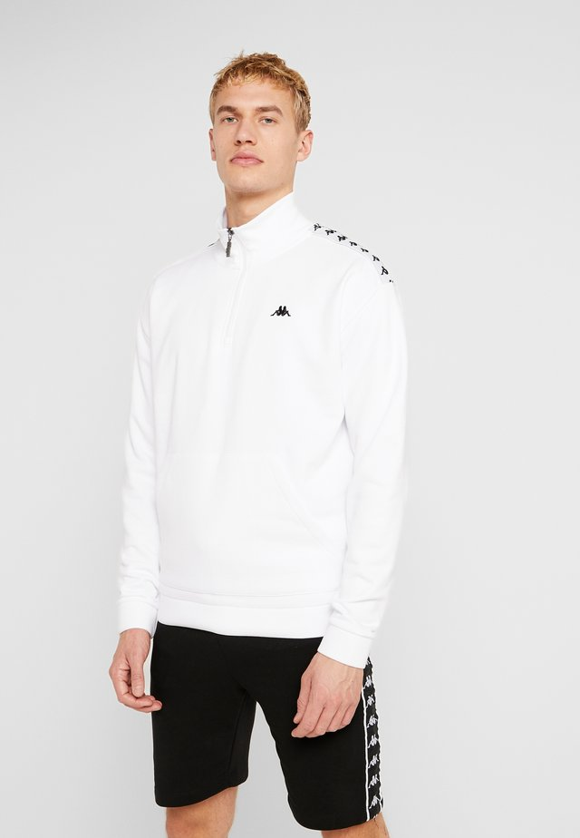 GREETER - Sudadera - bright white