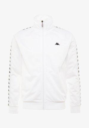 GAMBRU - Träningsjacka - bright white