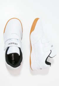 Kappa - KICKOFF  - Sportovní boty - white/black - 1